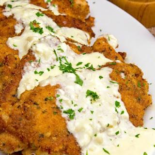 Chicken with Creamy Garlic Sauce