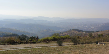 Photo: Vue sur Veliko Tarnovo depuis Arbanasi