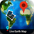 HD Live Earth Map - GPS Satellite Maps Tracker