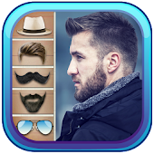 Man Style Makeup - Hair &  Beard Photo Editor