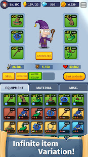 Mod Game Heroes of magic : Wizard of Legend for Android