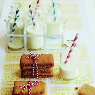 Homemade Malted Milk Biscuits.