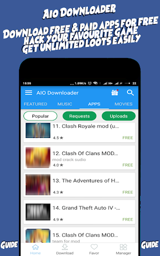 aio downloader paid apps for free