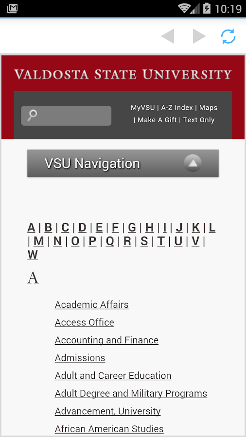 VSU Spectator- screenshot