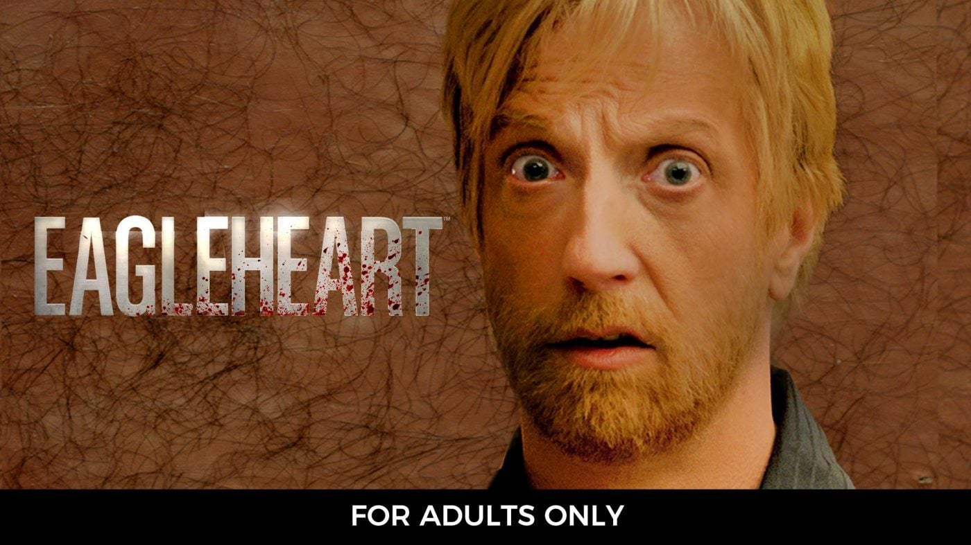 Eagleheart is on Showmax