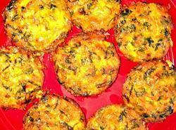 Crustless Mini Spinach Quiches Recipe