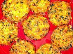 Crustless Mini Spinach Quiches Recipe