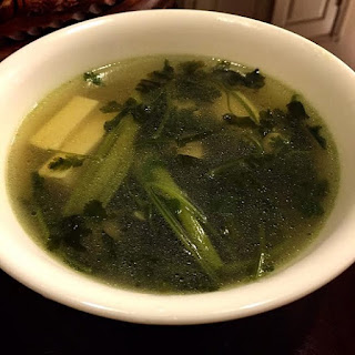 Chinese Parsley Soup