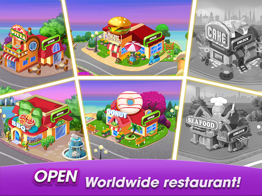 Cooking World: Cook, Serve in Casual & Design Game 1.0.6 screenshots 17