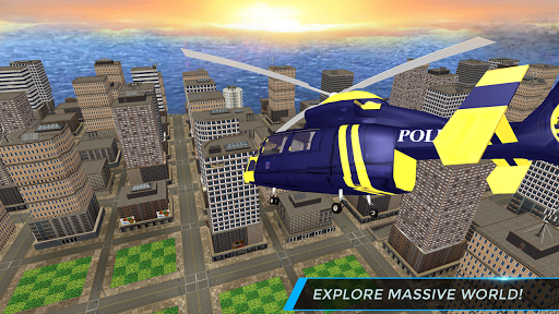 Real City Police Helicopter Games: Rescue Missions 5.0 screenshots 1