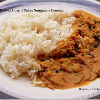 Goan Dry Prawns Curry / Sukya Sungtache Hooman