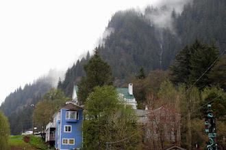 Photo: Juneau on a misty morning