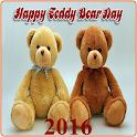 Happy Teddy Bear Day 2016 icon
