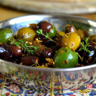Roasted Olives.