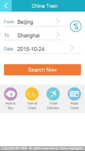 China Train Booing