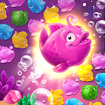 Mermaid - treasure match-3 Icon