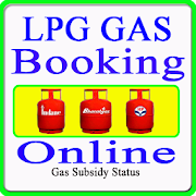 LPG GAS Online Booking Indane Gas Bharatgas HP Gas