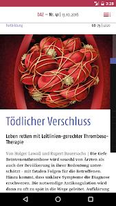 Deutsche Apotheker Zeitung screenshot 3