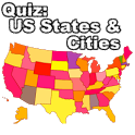 Quiz: Cities and States (USA) icon