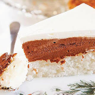 Festive Chocolate-Coconut Cake.
