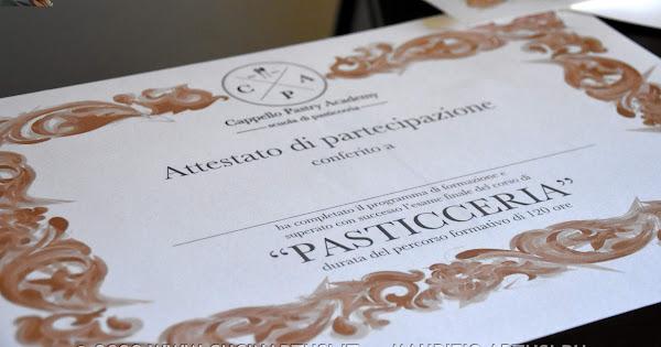 2020-02-21 >>Esami corso pasticceria Cappello Academy