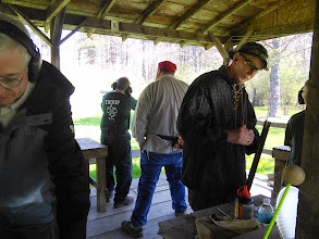 Photo: One of the highlights was making big booms with muzzle loading black powder rifles -- really fun!