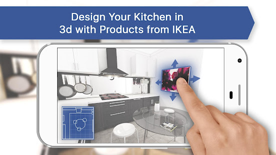 3d Kitchen Design For Ikea Room Interior Planner Apps On Google Play