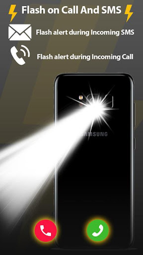 Flash Light Alert On Call And SMS 61 gameplay | AndroidFC 1