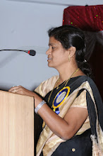 Photo: Speech by Dr. Aruna Devi - Guest of Honor - Executive - POWER