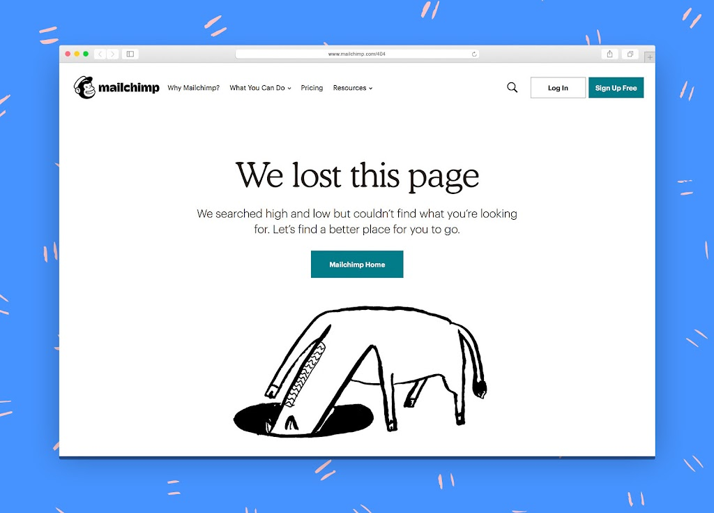 ingenious examples of how to use your 404 page for lead generation