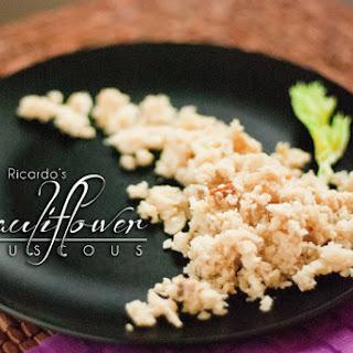 Cauliflower Couscous by Ricardo Cuisine