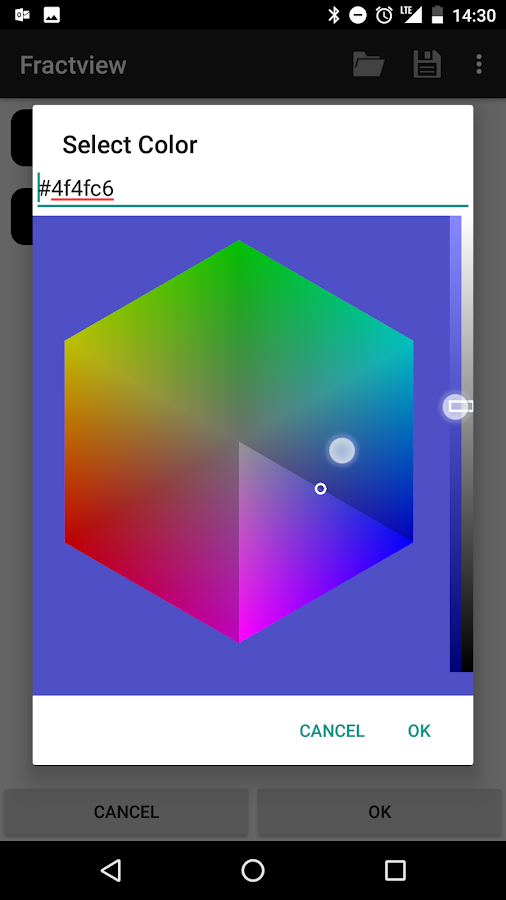 Fractview- screenshot