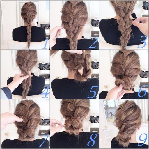 Hairstyles step by step 2018  screenshots 9