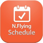 N.Flying Schedule Icon