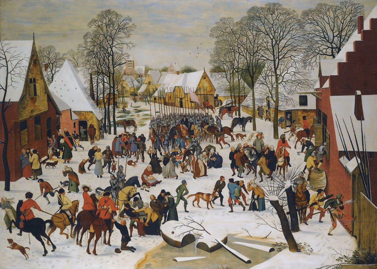 Article about Pieter Bruigel's Massacre of the Innocents.