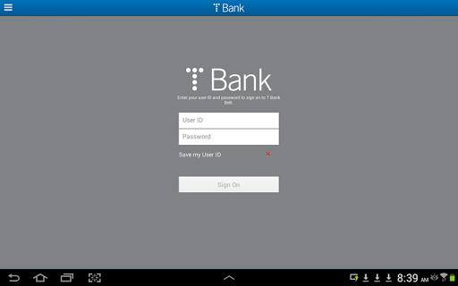 T Bank BeB Tablet