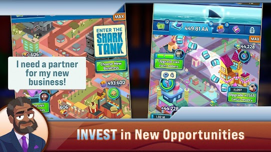 Shark Tank Tycoon MOD APK (Unlimited Everything) 4