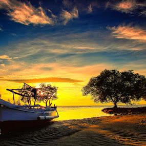 Berteduh by Marcell Boli - Landscapes Sunsets & Sunrises