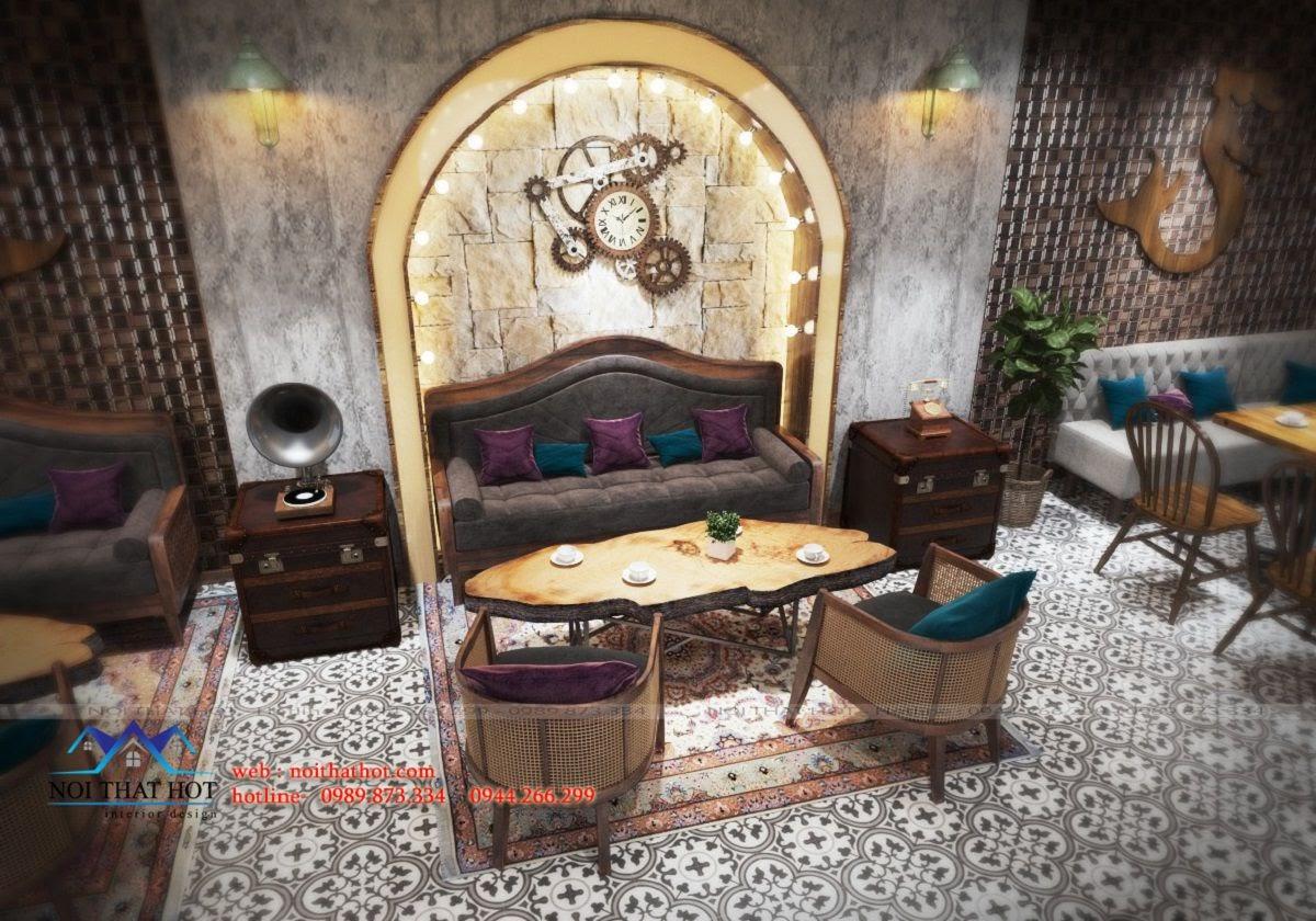 thiết kế quán cafe đẹp nhất lai châu