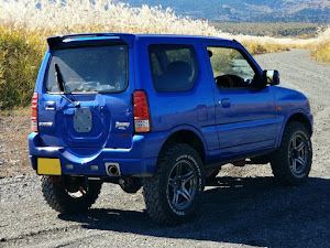 ジムニー JB23W X-Adventure XC(クロスアドベンチャーXC JB23-8型)パールメタリックカシミールブルー初年度登録 2012年(平成24年)4月のカスタム事例画像 Compact Blue さんの2020年10月26日21:41の投稿