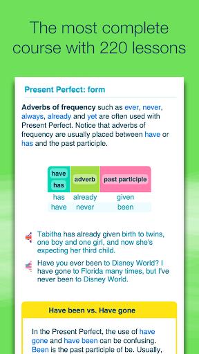 Advanced English with Wlingua screenshot 1