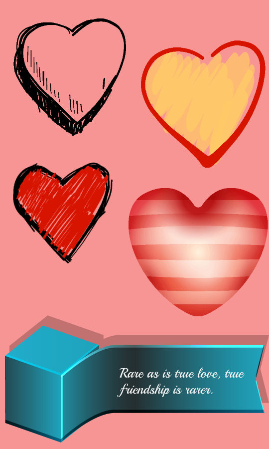 Love Heart Stickers- screenshot