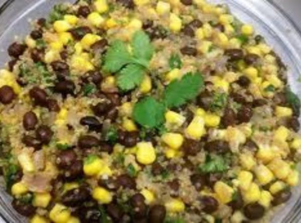 Black Bean And Quinoa Salad Recipe