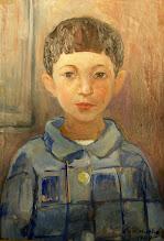 Photo: The Artist's Daughter Elena 1938 age 8
