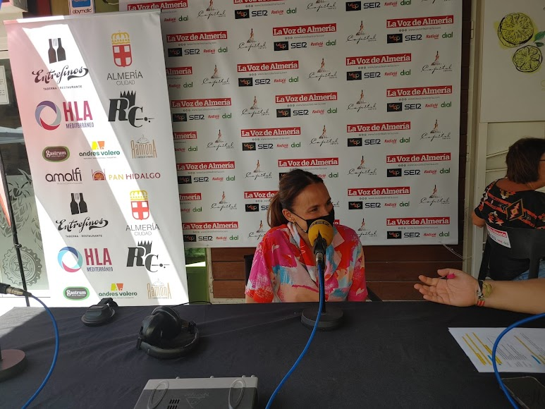 La portavoz de la Asociación de Feriantes, Mercedes Domínguez