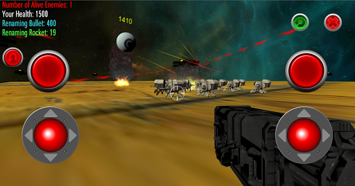 Robot Wars - Star Scene Droid Version 5 screenshots 1