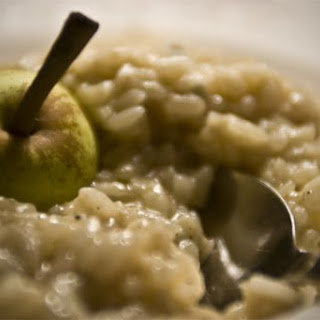 Pears and Sweet Blue Cheese Risotto