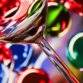 Partaayyyy!! by Mark Denham - Abstract Fine Art ( abstract, colour, glass, fun, party )