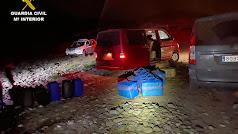 La Guardia Civil detiene a 16 personas de dos organizaciones criminales.