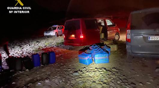 Detenidas 16 personas de dos organizaciones criminales en Los Escullos